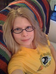 In my Steelers paraphernalia for the playoff game!