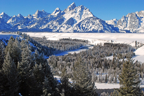 Winter Grand Tetons - 2796b