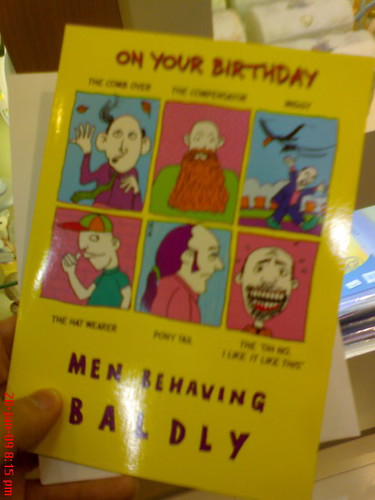 Jack neo's Birthday card.