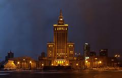 Warsaw Palace of Culture and Science (liber) Tags: monument delete10 night delete9 delete5 delete2 cloudy delete6 delete7 gothic culture save3 delete8 delete3 palace delete delete4 save save2 warsaw stalinist gigapan dopplr:explore=1z41