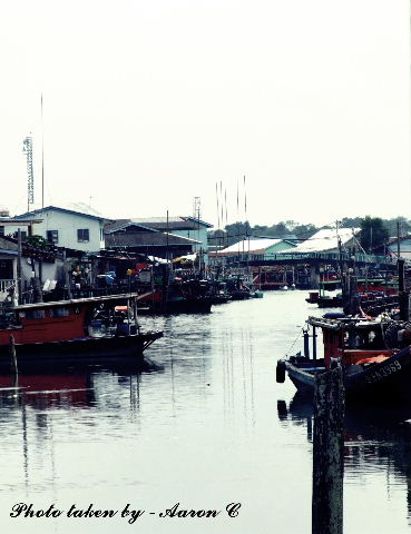 The fishing village