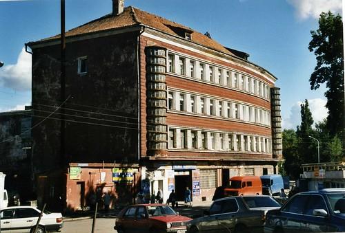 Калининград Pre-war building, Kaliningrad 2003 ©  sludgegulper