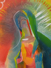 In Prayer: Our Lady of Guadalupe (detail) 2008 by Stephen B Whatley (Stephen B Whatley) Tags: france art love mexico hope artist peace christ miracle mary prayer pray praying jesus mother halo icon grace blessing holy vision devotion expressionism prayinghands virginmary healing miracles apparition lourdes motherofgod ourladyofguadalupe holymother blessedvirginmary ourladyoflourdes starofthesea stbernadette stephenbwhatley motherofmexico immaculatevirginmary immaculataguadalupe