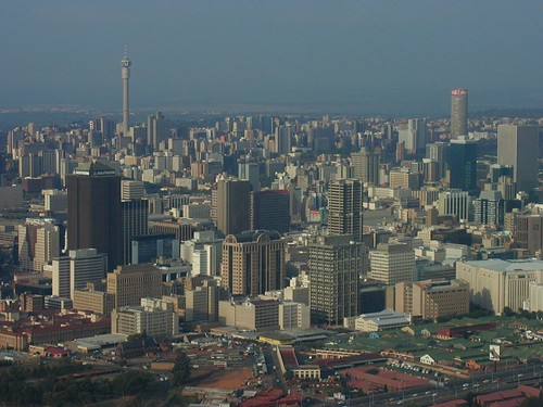 Johannesburg from the air