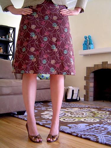 Birds Skirt