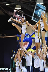 Just two more games to a CAA first round bye...Cheer on Drexel Spirit (MNJSports) Tags: college dance cheerleaders jazz cheer espn drexel backflip danceteam drexelspiritgroups