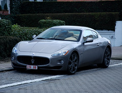 Maserati GranTurismo (Robin Kiewiet) Tags: italy robin photography italian nikon very fast s automotive ferrari lamborghini 2009 coupe 42 v8 maserati 47 coup granturismo dreamcars dreamcar kiewiet knokkeheist d80
