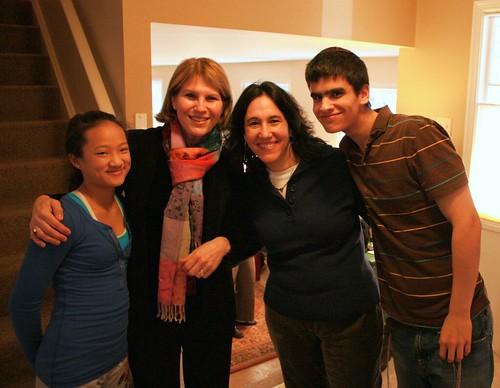 Rebecca, Karen, Janis, Eytan