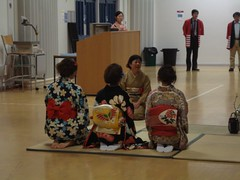 Tea ceremony (Shigatsuhana) Tags: festival japanese loughborough