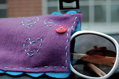 grandma felt sunglasses case (sarahreck) Tags: