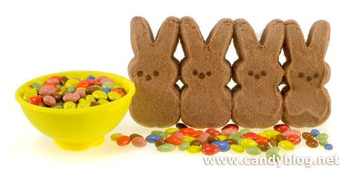 Peeps + Chocolate Sunflower Seeds