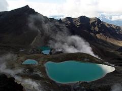 """""""Tongariro Crossing"""" (Wisemancat) Tags: travel newzealand nature photography tongarirocrossing northisland"""
