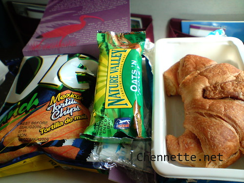 Caribbean Airlines POS-MIA meal