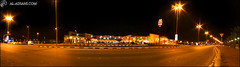 All that's left of yesterday ... (Mohammed Al-Adsani ) Tags: road street panorama night lights mac shot alhassa          aladsani  alhufof