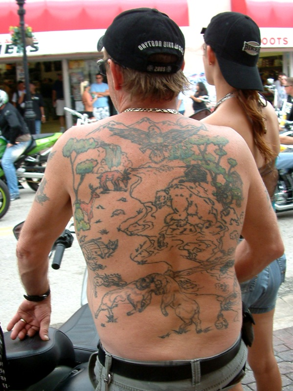 Second Worst Tattoo Ever - Biketoberfest 2008, originally uploaded by