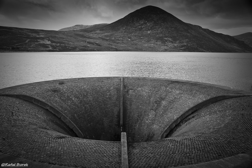 Silent Valley in B&W