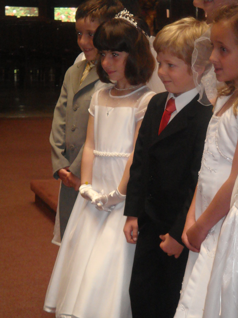 Olivia's First Communion