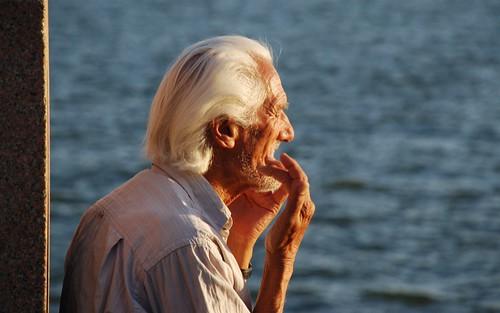 el anciano y el rio