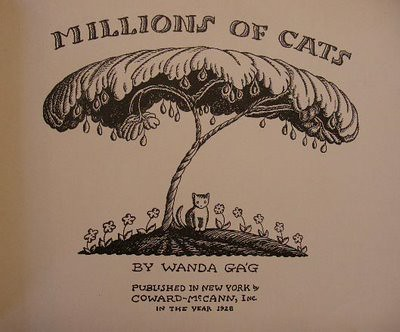 Top 100 Picture Books #21: Millions of Cats by Wanda Gag