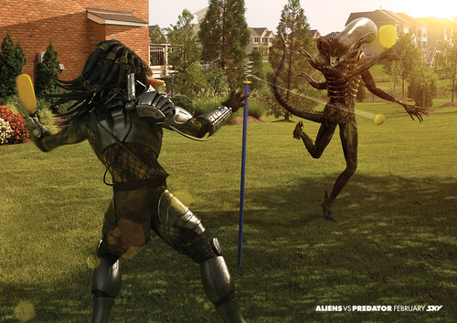 Aliens vs Predator swingball