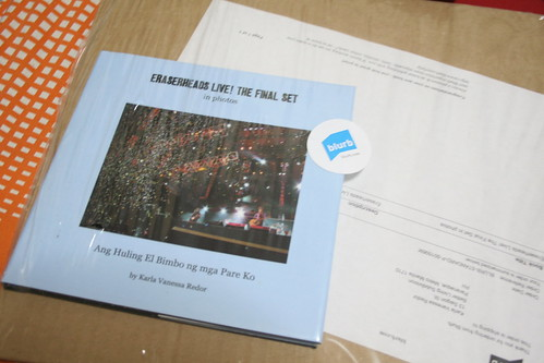 My Eraserheads Live Custom Photo Book