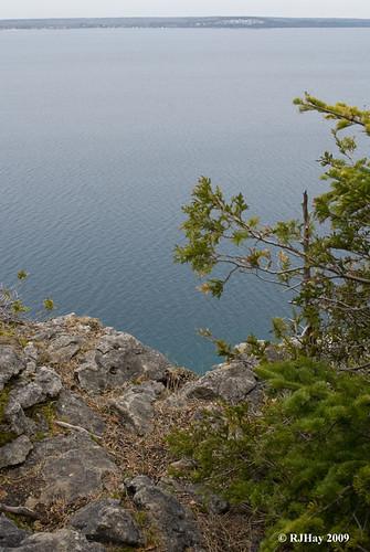 On the edge - Lion's Head Point, Ontario