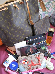 whats in my bag 2 (amy bale) Tags: coach random purse stuff whatsinyourbag whatsinmybag bagcontents louisvuitton pursecontents