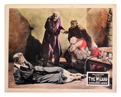 THE WIZARD lobby card