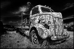 Ford Truck (crowt59) Tags: bw white black ford truck nikon texas denton fordtruck d300 123bw getrdun crowt59 artofimages