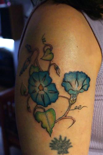Morning Glory Tattoo On Pinterest September Birth Flower