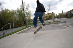 Skateboarding (kenyaya) Tags: school toronto ontario canada canon rebel skateboarding hill richmond tricks skateboard xs actions 1000d