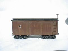 PM&TCo No. 4 Boxcar