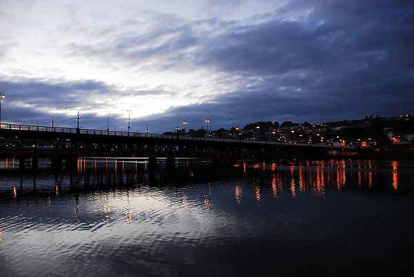 Derry at 4am - Foyle Bridge