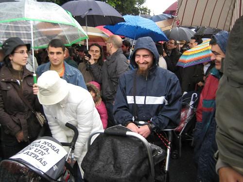 En Santiago chove