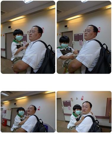 你拍攝的 han_20090512_戴口罩  定期檢查。