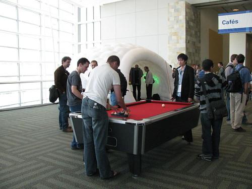 Google I/O 2009 billar