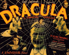 POSTER - DRACULA (1931) (2) (by rutgermortensen)
