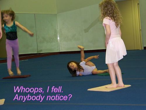 June 09 First Gymnastics Class 006-1