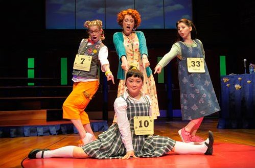 "Photo from ""The 25th Annual Putnam County Spelling Bee,"" 2009 productin at"