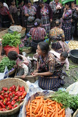Colourful Women In The Market