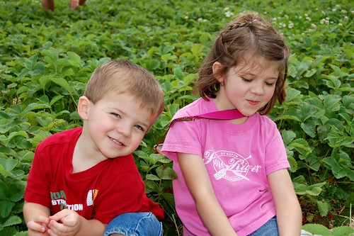Hannah and Harrison at Spencer Farms