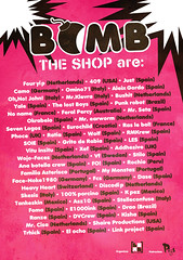 BOMB THE SHOP are: (bombtheshop) Tags: pez k familia project four stickers el camo just link ocho yale productions gordo cartel 409 dvcrew fcs aleix kisha yip cisa stilo asterisco drao monstaz shaire discodip okrabelo ranze fouryip trhick skesis loadcorp pigsskateshop bombtheshop asz10