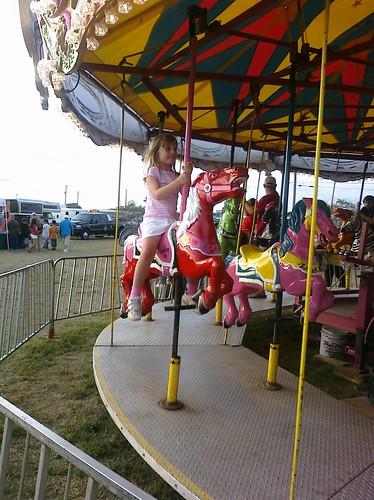 carousel ride for cassie girl