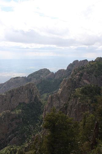 View from Sandia Mtn.