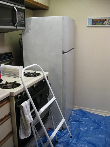 Primer on fridge