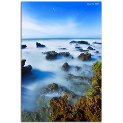The white sea (310 sec) (alonsodr) Tags: longexposure seascape marina landscape andaluca sony paisaje alpha nocturnas cdiz alonso nighshot rota carlzeiss largaexposicin a900 alonsodr abigfave superaplus aplusphoto infinestyle alonsodaz cz1635mm pegines