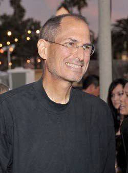 Steve Jobs flaco enfermo