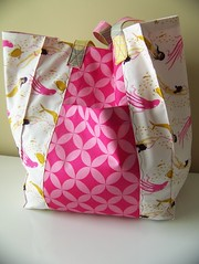 Jane Market Bag (amandahall25) Tags: bag mermaids mendocino tote knittingbag heatherross goodfolks annamariahorner
