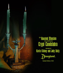 Haunted Mansion Crypt Candelabra
