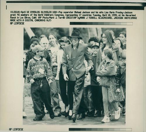 Jackson Michael - Apr 08 1995
